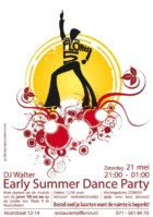 Early Summer Dance Party Poster