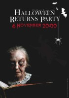 Poster Halloween Returns Party