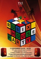 Poster Rubix House Party