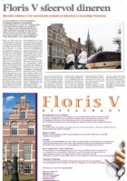Advertentie restaurant Floris V